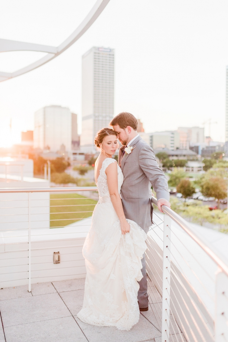 Discovery World Milwaukee, WI Wedding Photographers - Larissa Marie Photography