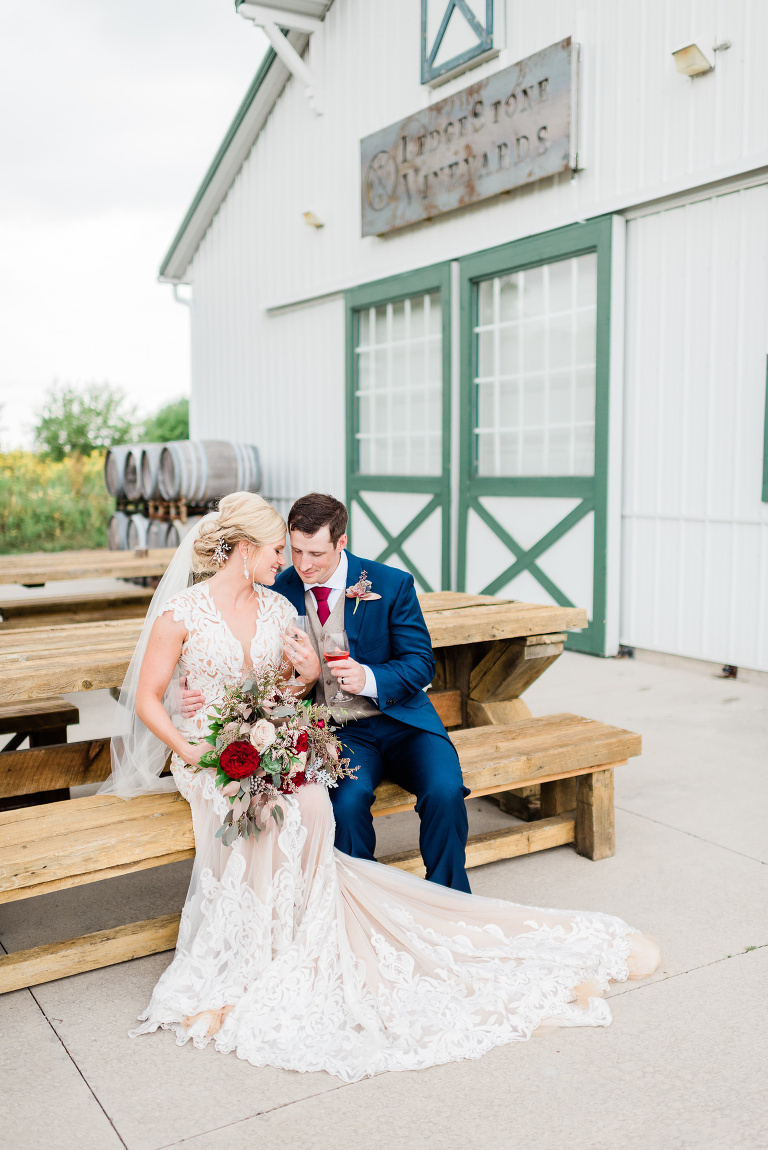 Olde 41 Green Bay, WI Wedding Photographers - Larissa Marie Photography