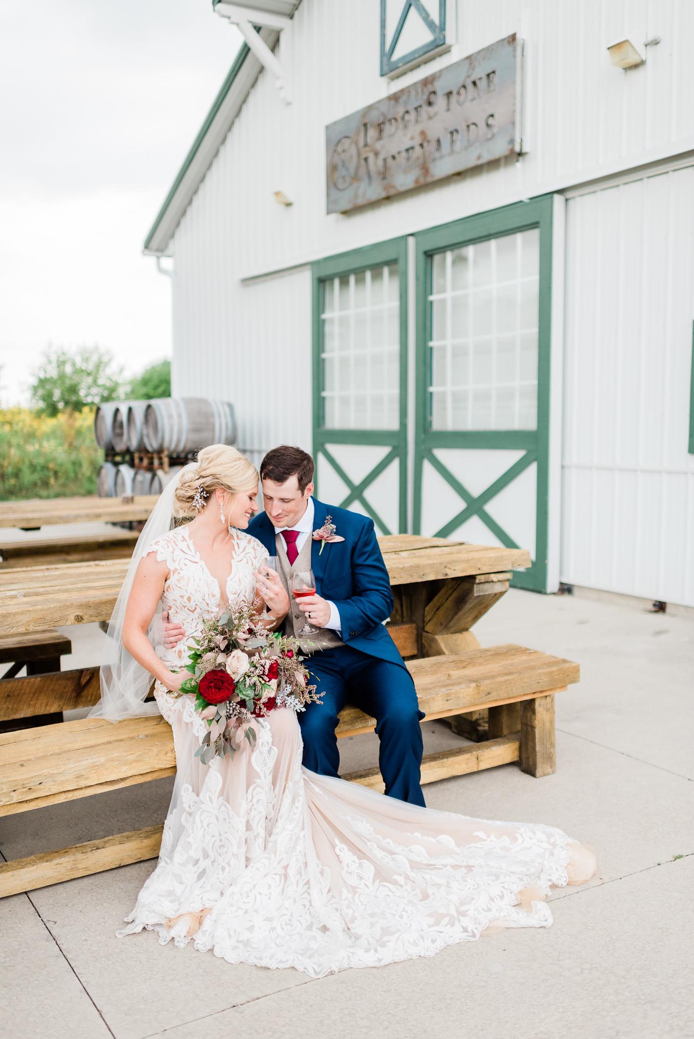 Olde 41 Green Bay, WI Wedding Photographers - Larissa Marie Photography