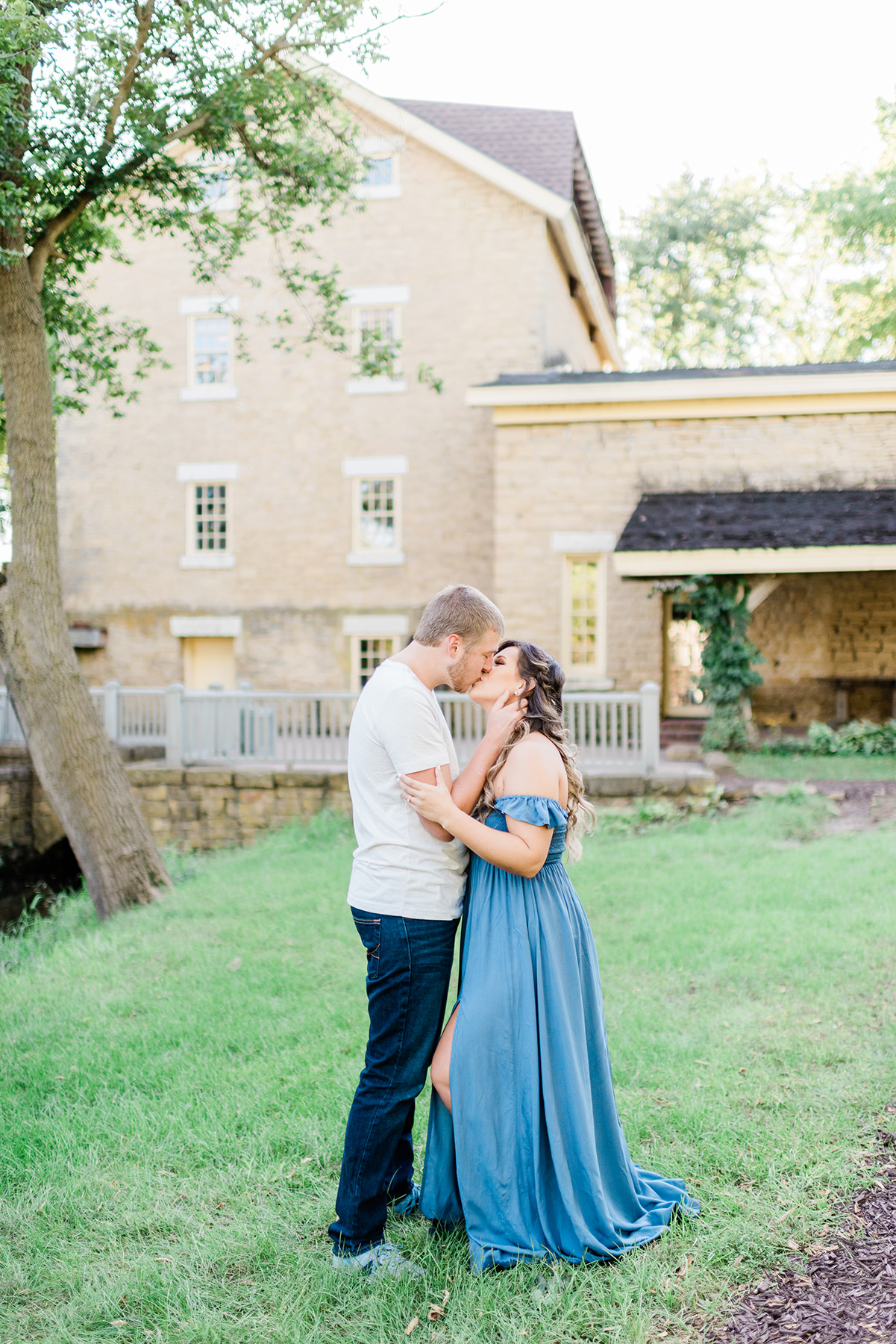 Paoli Mill and Terrace Engagement Pictures