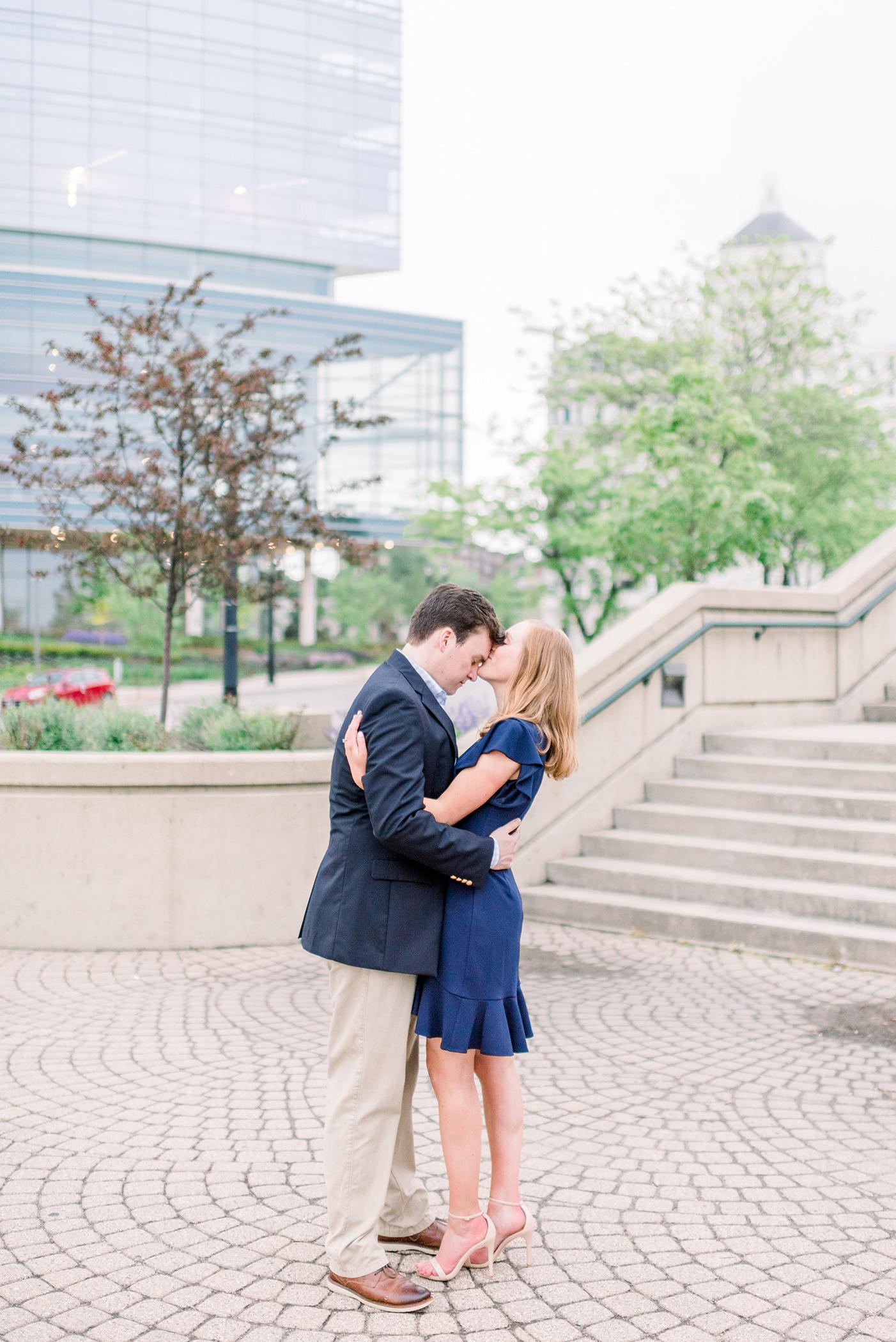 Milwaukee Art Museum Engagement Session