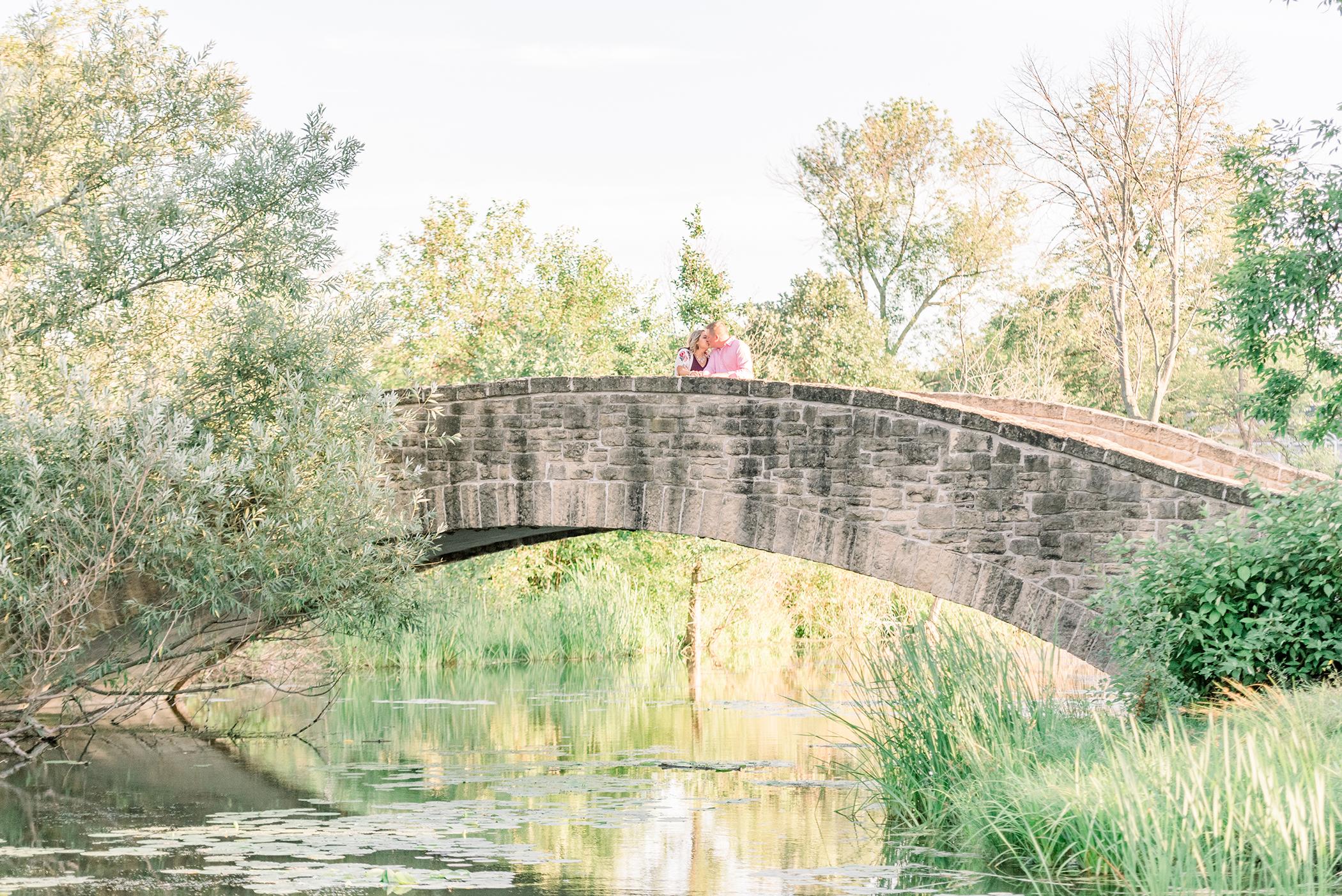 Tenney Park Locks Engagement Session