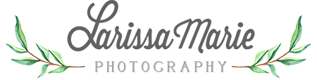 Larissa Marie Photography Logo
