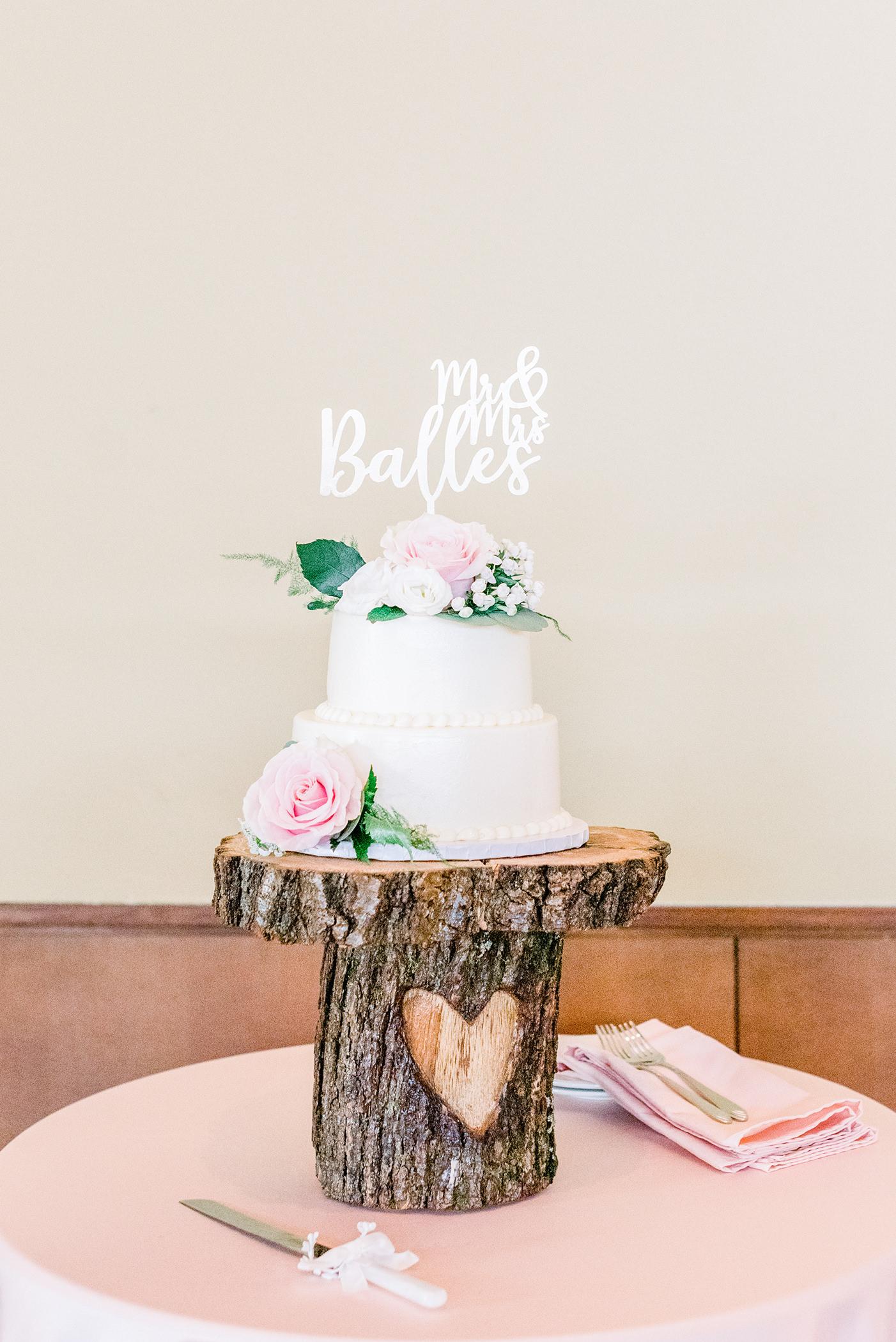 Wedding Cake by Carl's Cake Madison, WI