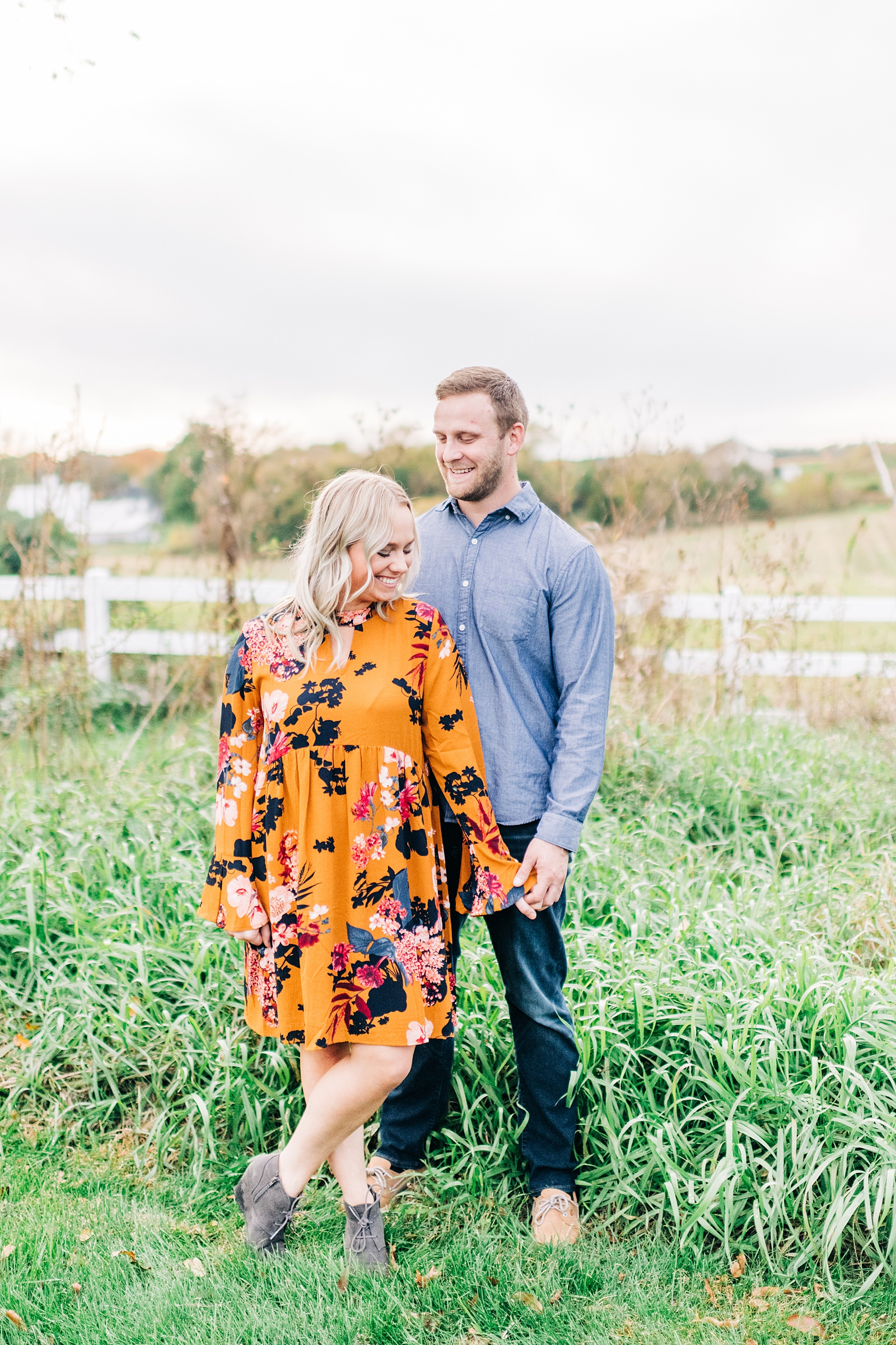 Madison, WI Fall Engagement Session