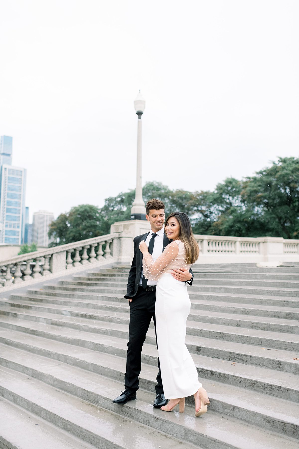 Chicago, IL Engagement Photographers- Larissa Marie Photography
