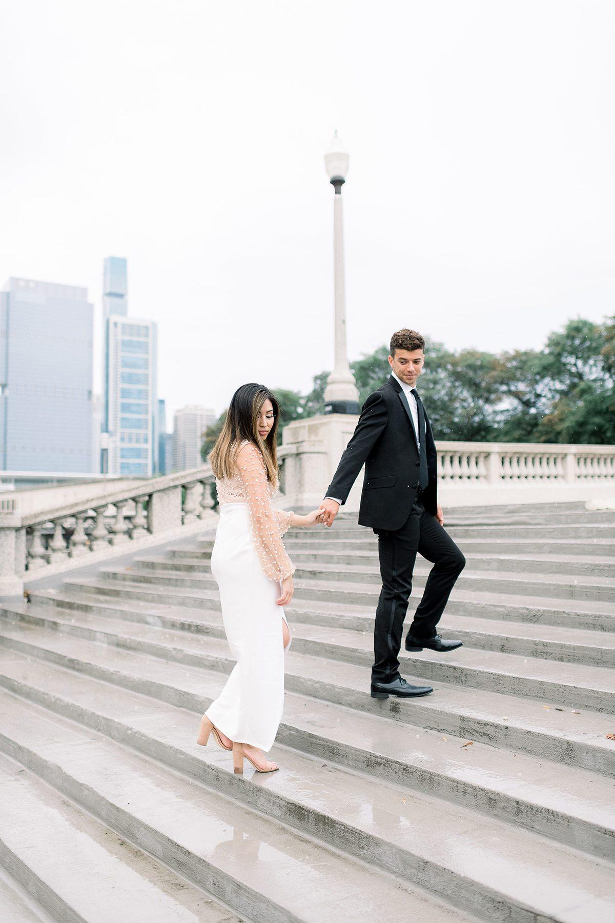 Chicago, IL Engagement Photographers - Larissa Marie Photography