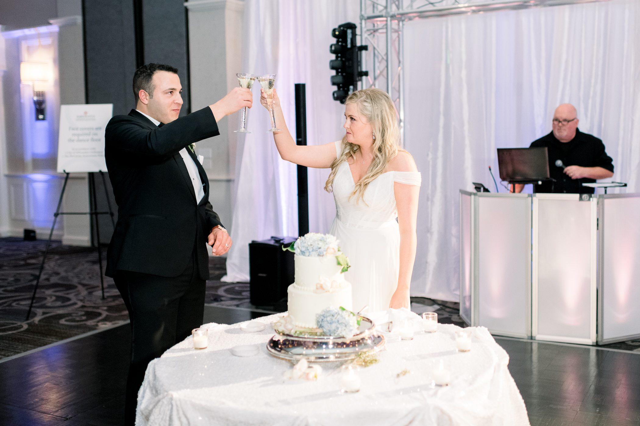 Italian Community Center Wedding Photographers