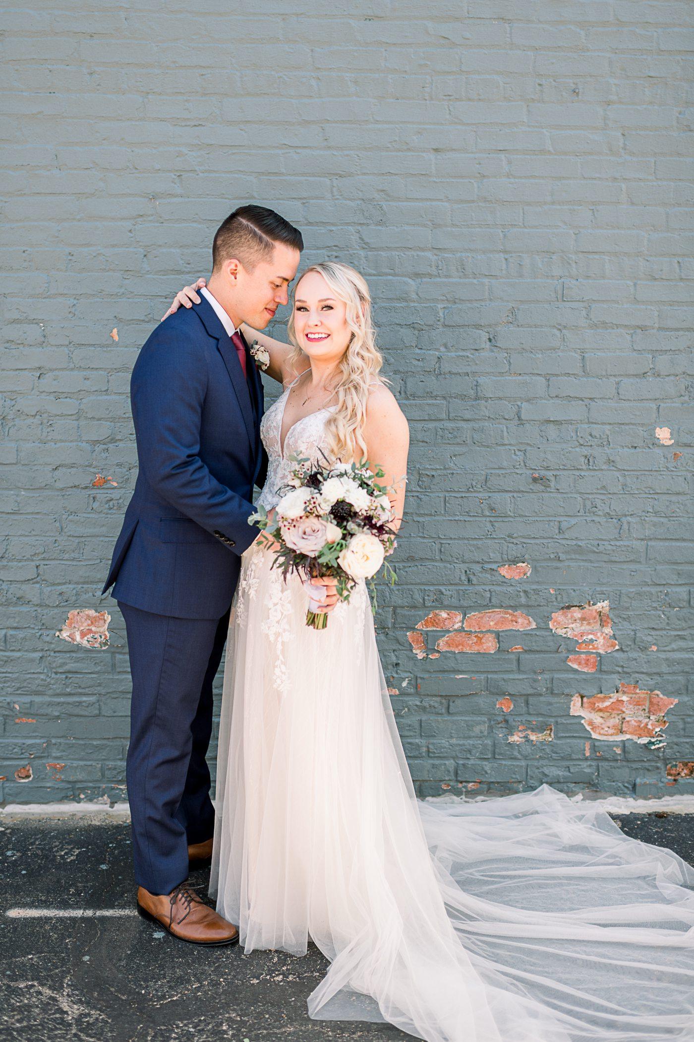 Burlington, WI Mercantile Hall Wedding Photographers