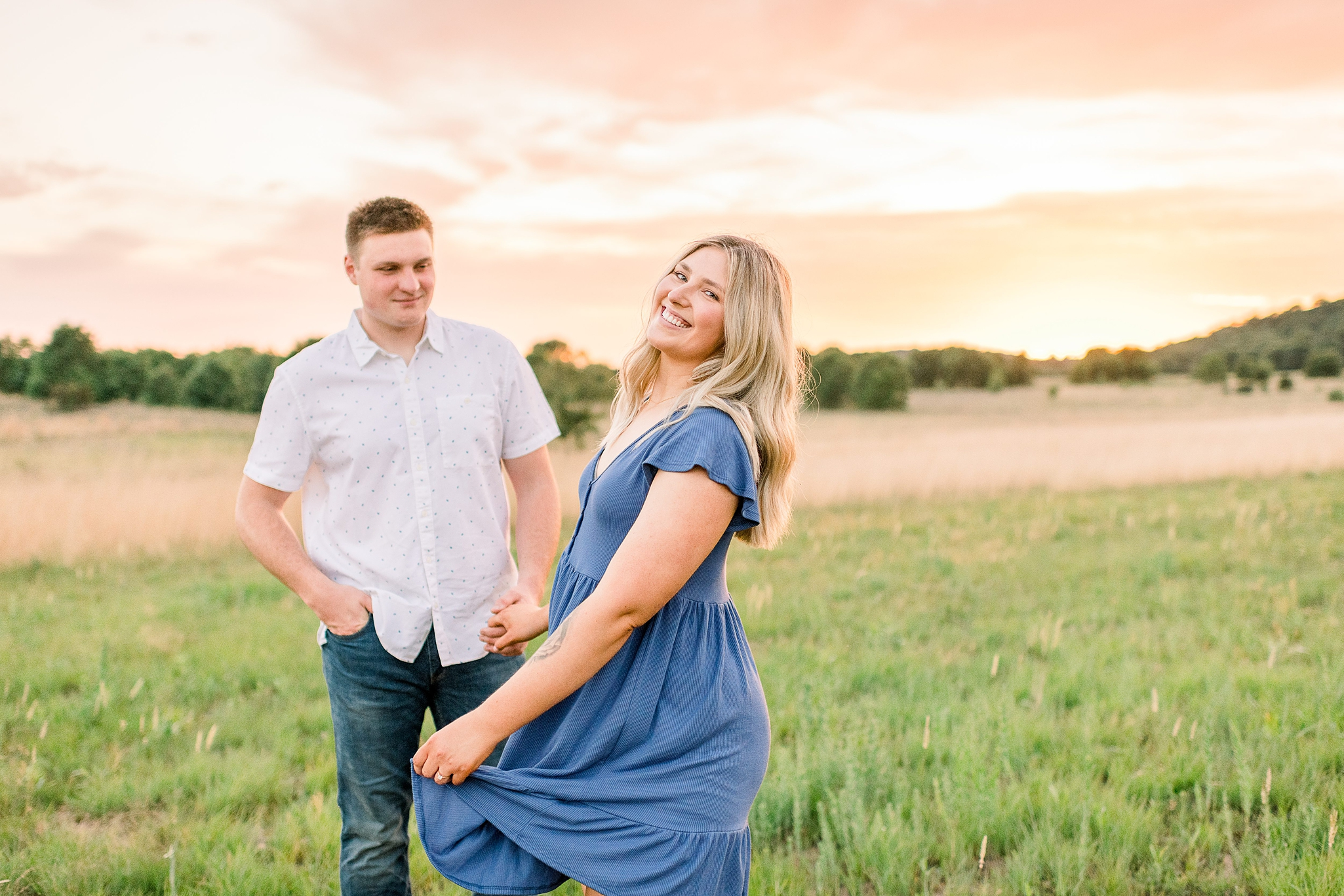 Spring Green, WI Engagement Photographers