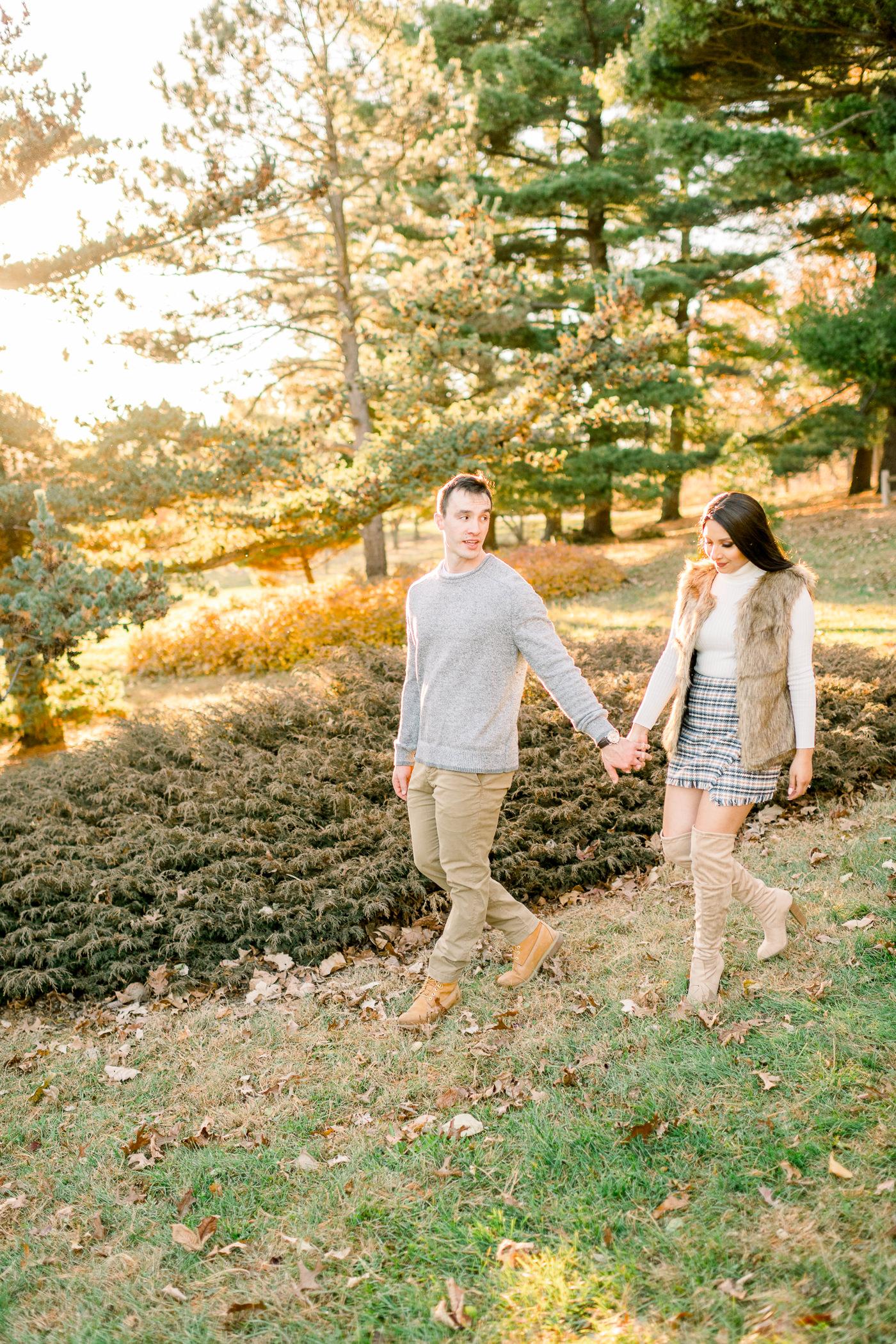 UW-Arboretum Fall Engagement Session