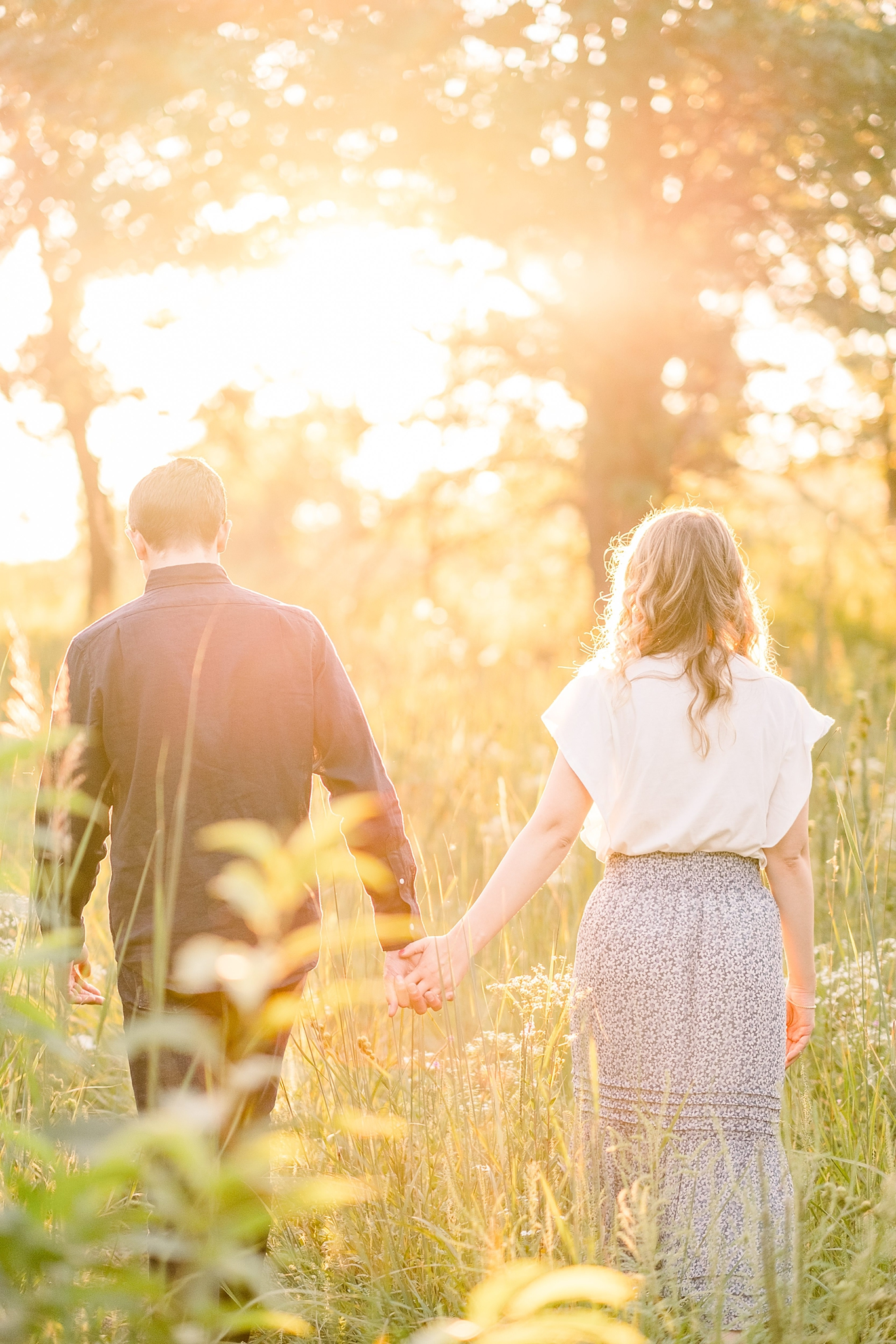 Spring Green, WI Engagement Photographers - Larissa Marie Photography