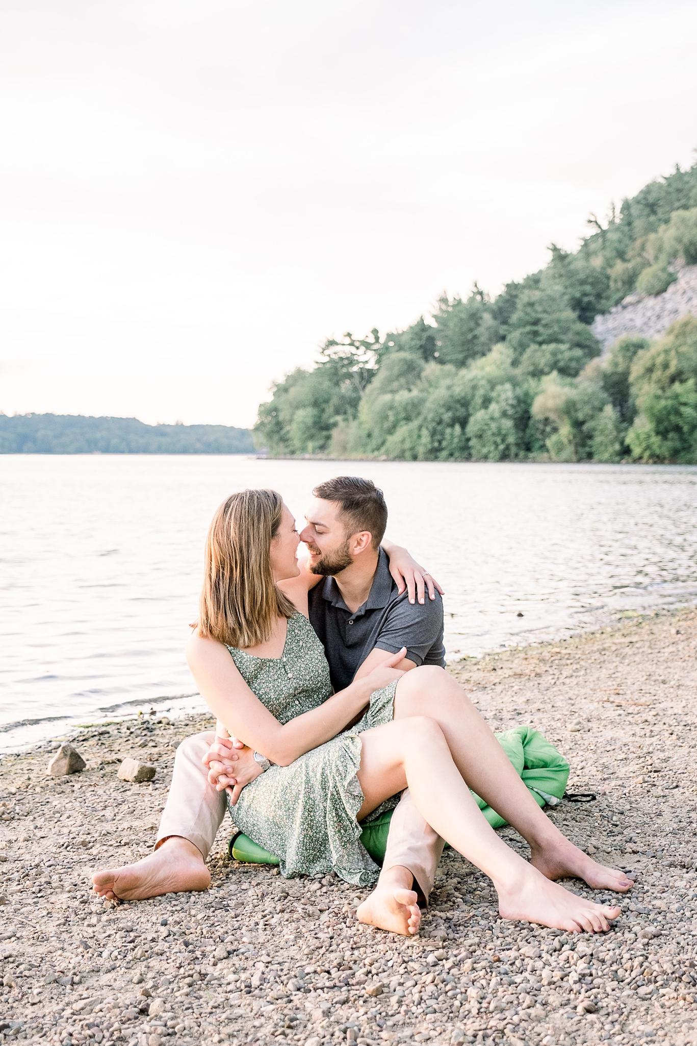 Devil's Lake State Park Engagement Session